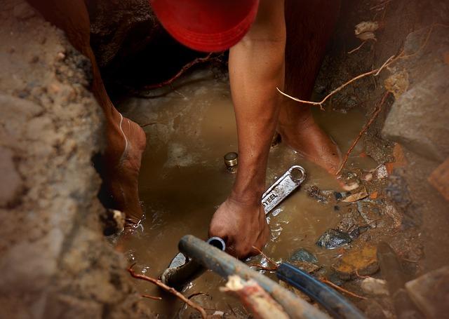 réparer fuites d'eau cachées